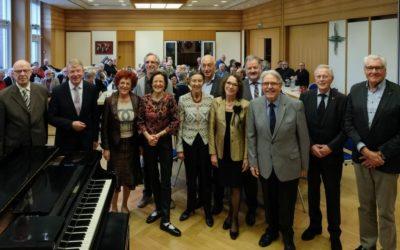 Start ins Jubiläumsjahr: Neujahrsempfang des Sängerkreises am 11.01.2020